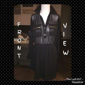 Black Sheer Top Rue 21 Dress